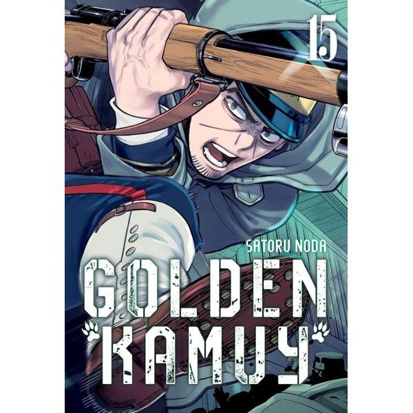 Golden Kamuy #15 Manga Oficial Milky Way Ediciones