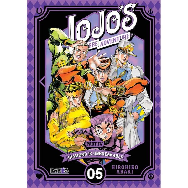 Jojo's Bizarre Adventure Diamond is Unbreakable #05 Manga Oficial Ivrea