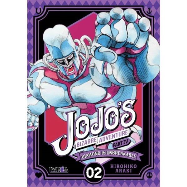 Jojo's Bizarre Adventure Diamond is Unbreakable #02 Manga Oficial Ivrea