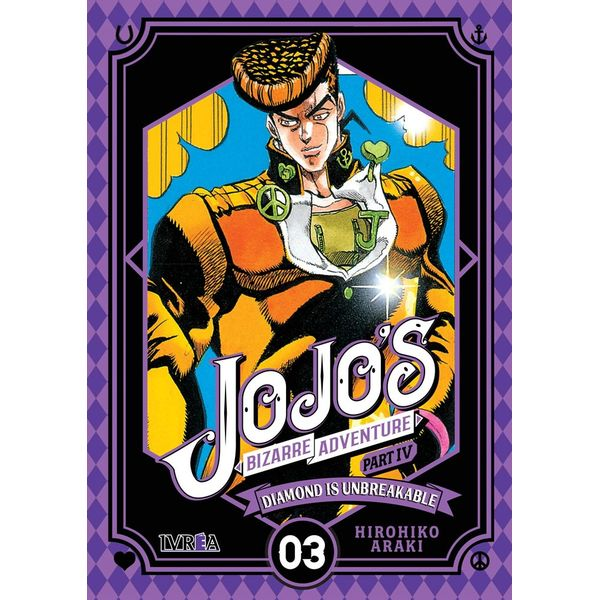 Jojo's Bizarre Adventure Diamond is Unbreakable #03 (Spanish) Manga Oficial Ivrea