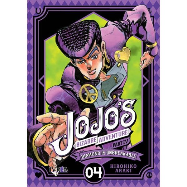 Jojo's Bizarre Adventure Diamond is Unbreakable #04 Manga Oficial Ivrea