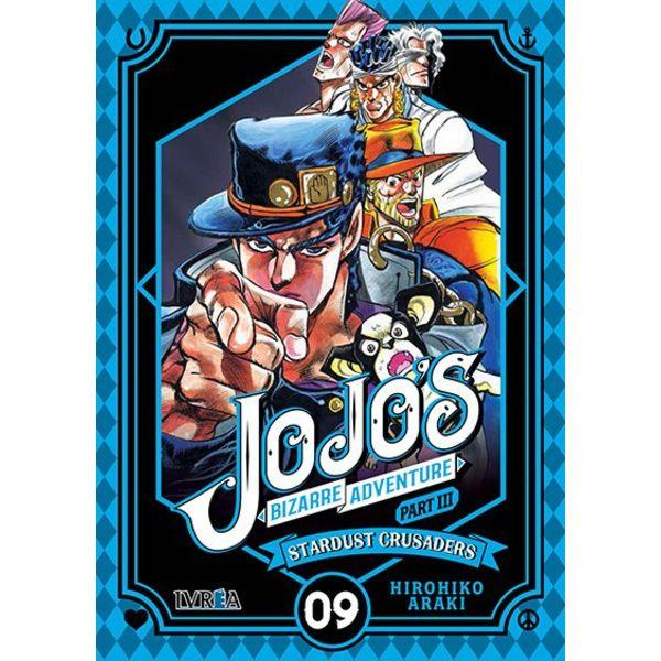 Jojo's Bizarre Adventure Stardust Crusaders #09 Manga Oficial Ivrea