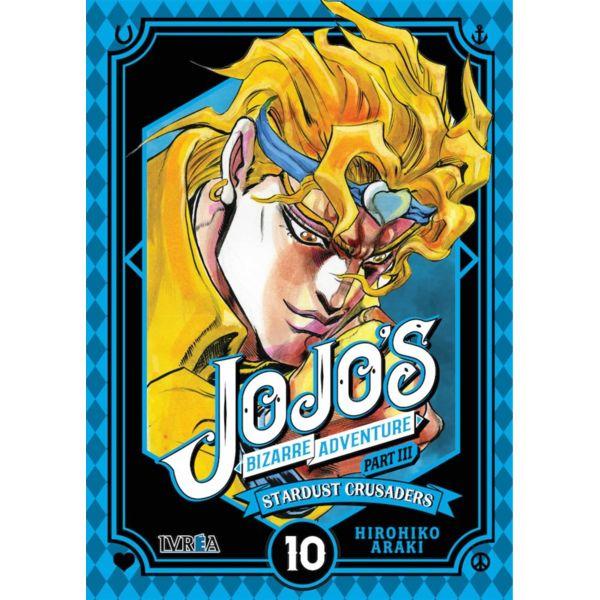 Jojo's Bizarre Adventure Stardust Crusaders #10 Manga Oficial Ivrea