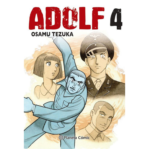 Adolf Edicion Tankobon #04 Manga Planeta Comic