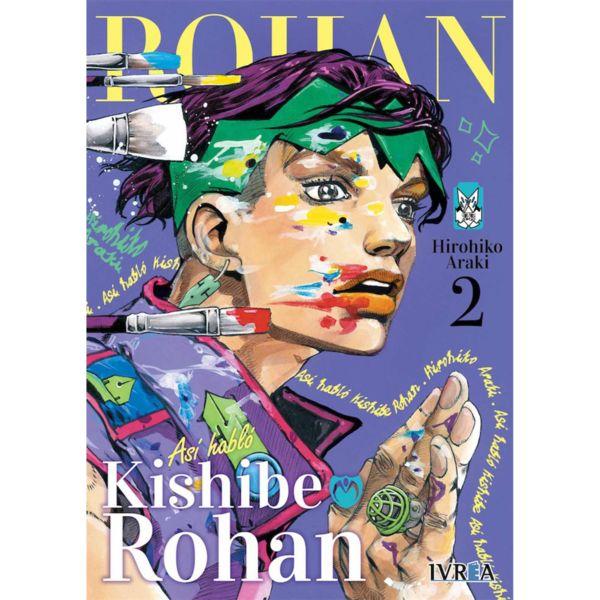 Asi hablo Kishibe Rohan #02 Manga Oficial Ivrea (Spanish)