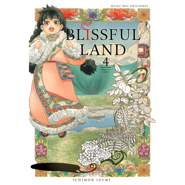 Blissful Land #04 Manga Oficial Milky Way Ediciones (Spanish)