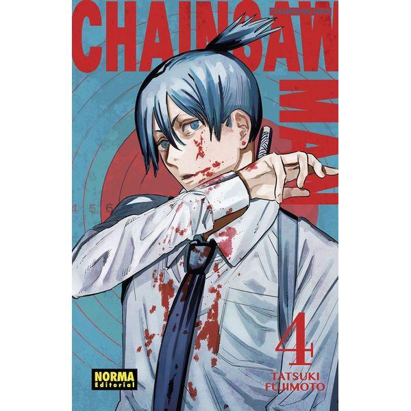 Chainsaw Man #04 Manga Oficial Norma Editorial