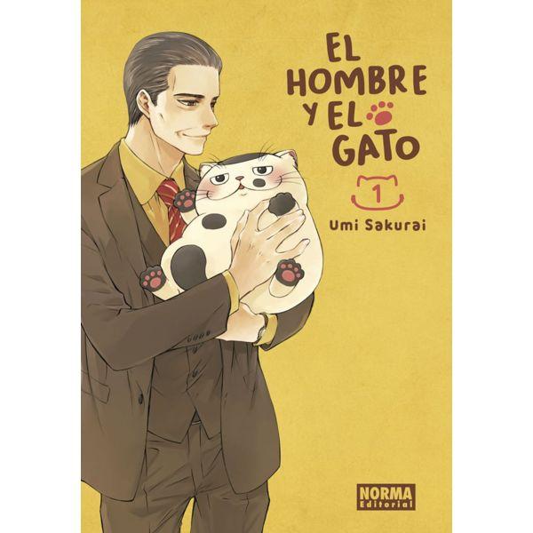 El Hombre y El Gato #01 Manga Oficial Norma Editorial