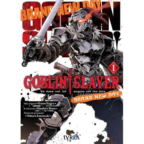 Goblin Slayer Brand New Day #01 Manga Oficial Ivrea