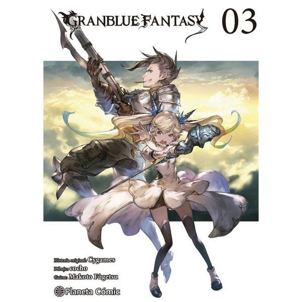 Granblue Fantasy #03 Manga Oficial Planeta Cómic