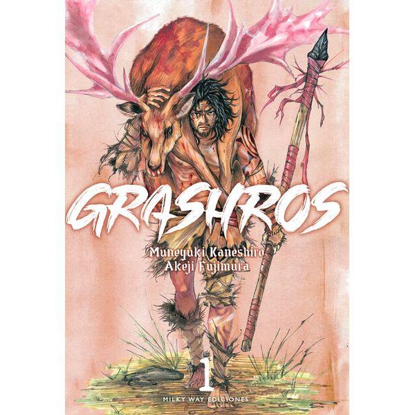 Grashros #01 Manga Oficial Milky Way Ediciones