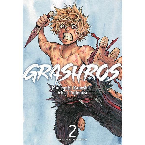 Grashros #02 Manga Oficial Milky Way Ediciones