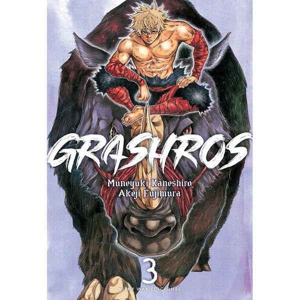 Grashros #03 Manga Oficial Milky Way Ediciones