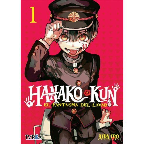 Hanako-kun: El Fantasma del Lavabo #01 Manga Oficial Ivrea