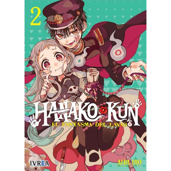 Hanako-kun: El Fantasma del Lavabo #02 Manga Oficial Ivrea (spanish)