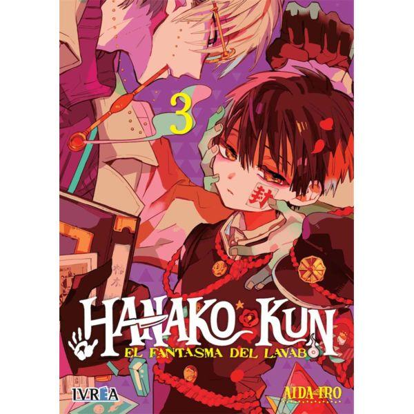 Hanako-kun El Fantasma del Lavabo #03 Manga Oficial Ivrea