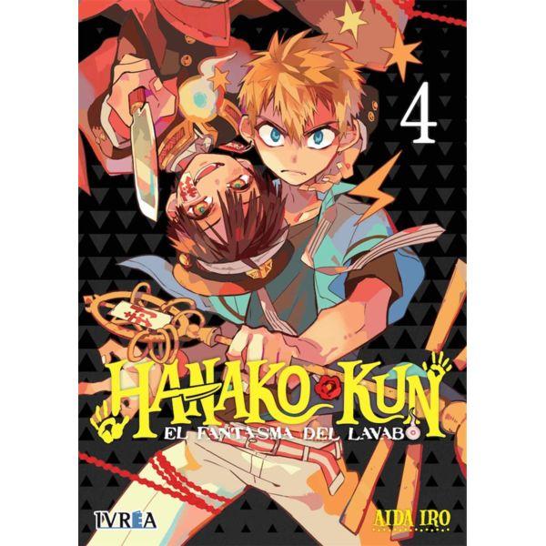 Hanako-kun El Fantasma del Lavabo #04 Manga Oficial Ivrea