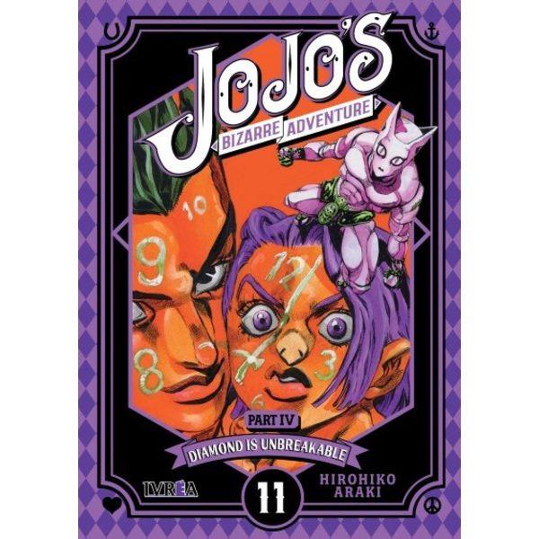 Jojo's Bizarre Adventure Diamond is Unbreakable #11 Manga Oficial Ivrea (Spanish)