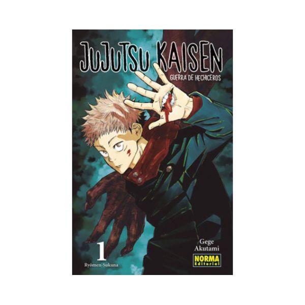 Jujutsu Kaisen #01 Manga Oficial Norma Editorial