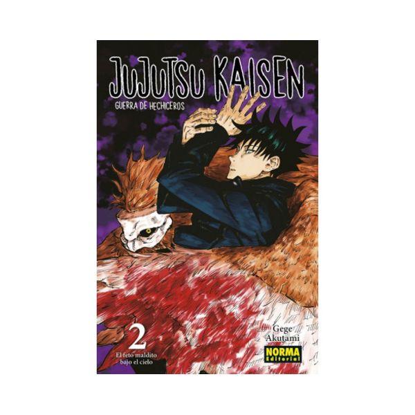 Jujutsu Kaisen #02 Manga Oficial Norma Editorial (spanish)