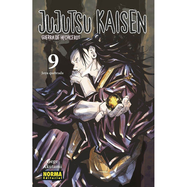 Jujutsu Kaisen #09 Manga Oficial Norma Editorial