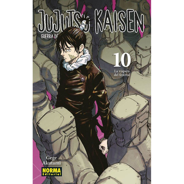 Jujutsu Kaisen #10 Manga Oficial Norma Editorial