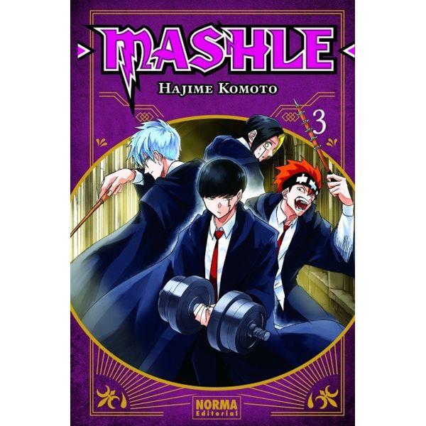 Mashle #03 Manga Oficial Norma Editorial