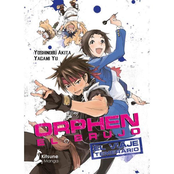 Orphen El Brujo El Viaje Temerario #01 Kitsune Manga