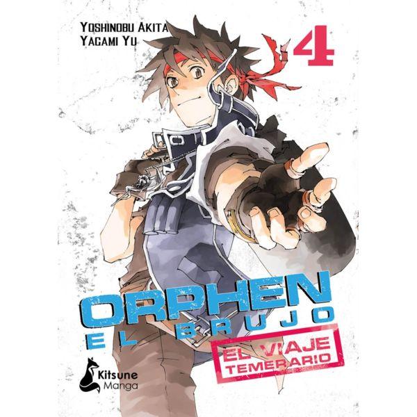 Orphen El Brujo El Viaje Temerario #04 Manga Oficial Kitsune Manga