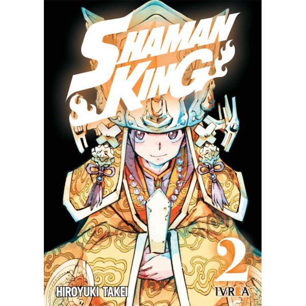 Shaman King #02 Manga Oficial Ivrea