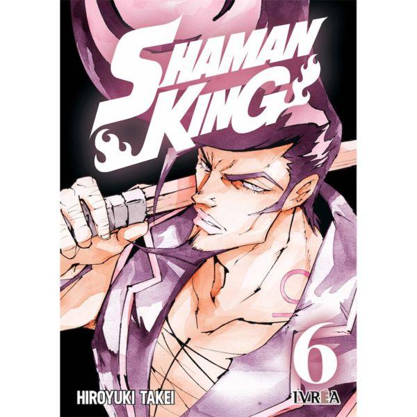 Shaman King #06 Manga Oficial Ivrea (Spanish)