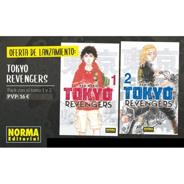 Tokyo Revengers #01 #02 Pack Especial Manga Oficial Norma Editorial (Spanish)
