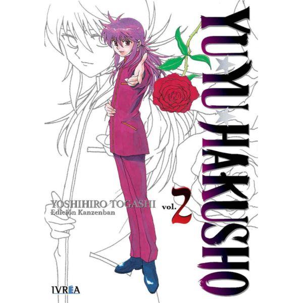 Yu Yu Hakusho Kanzenban #02 Manga Oficial Ivrea