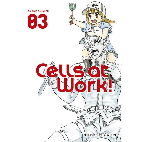 Cells At Work! #03 Manga Oficial Ediciones Babylon (Spanish)