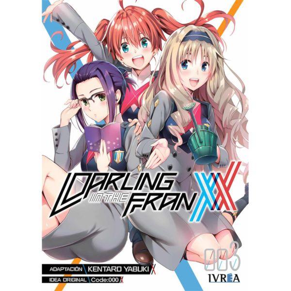 Darling in the Franxx #03 Manga Oficial Ivrea