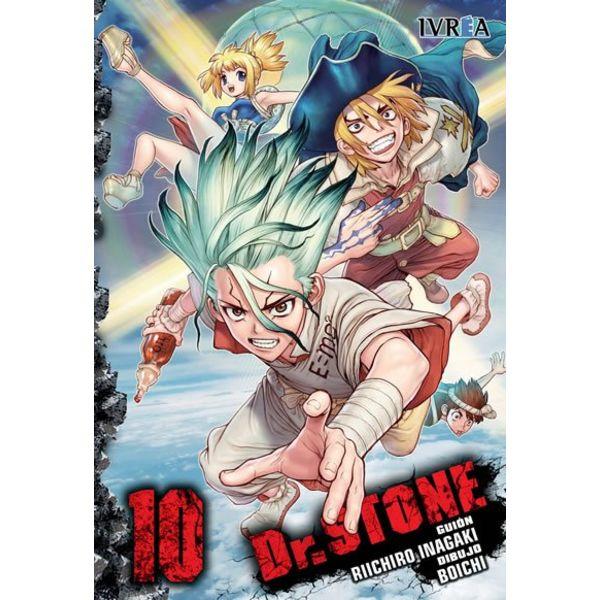 Dr. Stone #10 Manga Oficial Ivrea