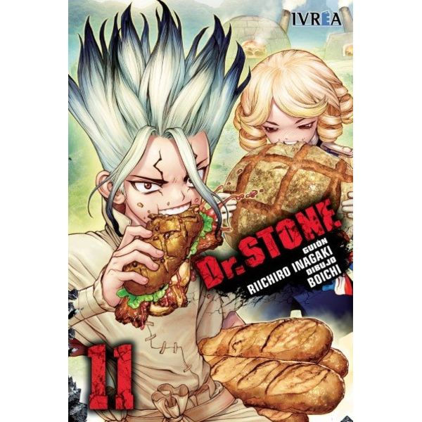 Dr. Stone #11 Manga Oficial Ivrea