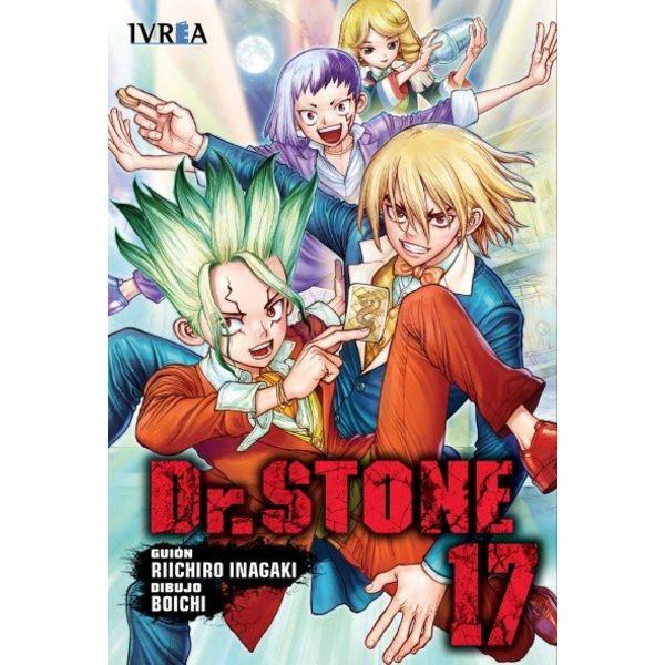 Dr. Stone #17 Manga Oficial Ivrea