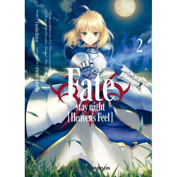 Fate/Stay Night: Heaven's Feel #02 Manga Oficial Ediciones Babylon