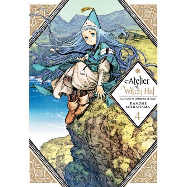 Atelier of Witch Hat - El Atelier de Sombreros de Mago #04 Manga Oficial Milky Way Ediciones