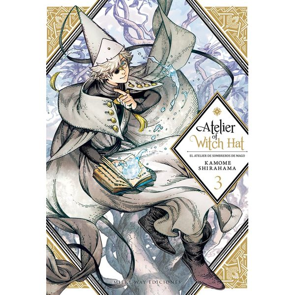 Atelier of Witch Hat - El Atelier de Sombreros de Mago #03 Manga Oficial Milky Way Ediciones
