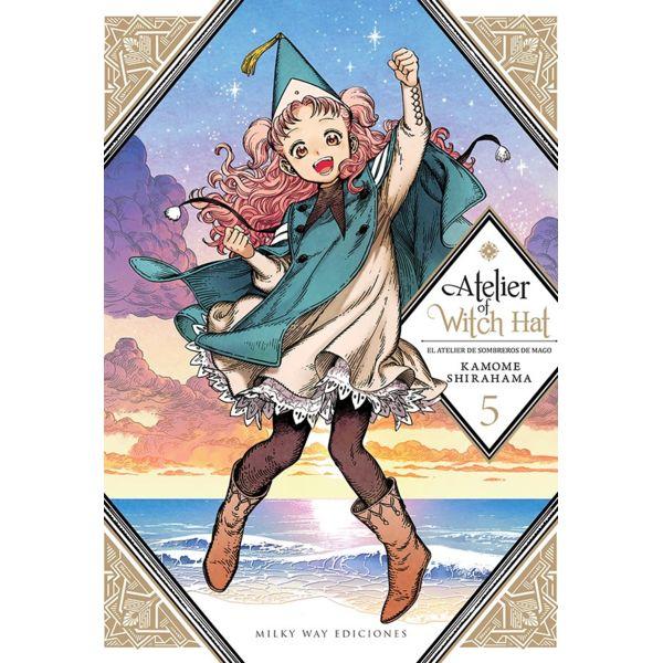 Atelier of Witch Hat - El Atelier de Sombreros de Mago #05 Manga Oficial Milky Way Ediciones