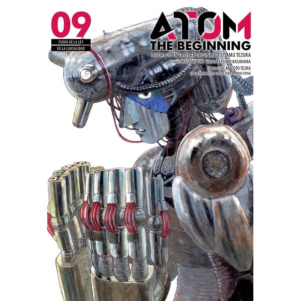 Atom the Beginning #09 Manga Oficial Milky Way Ediciones