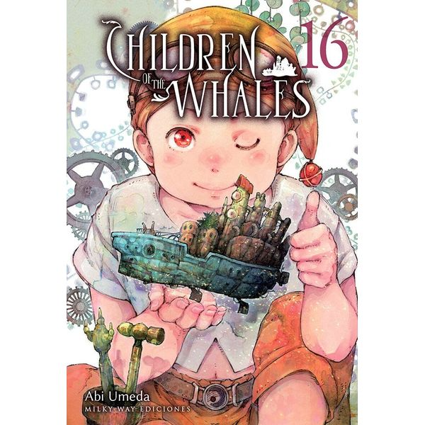 Children of the Whales #16 Manga Oficial Milky Way Ediciones