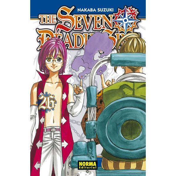 The Seven Deadly Sins #26 Manga Oficial Norma Editorial