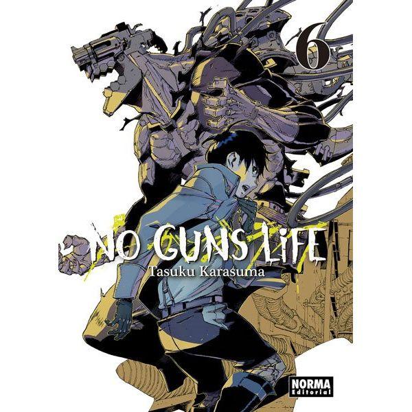 No Guns Life #06 Manga Oficial Norma Editorial