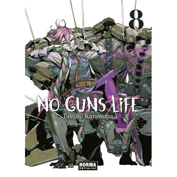 No Guns Life #08 Manga Oficial Norma Editorial