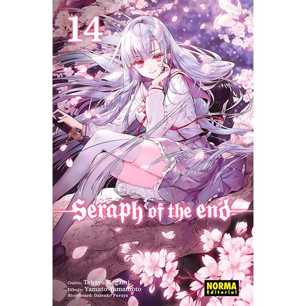 Seraph of the end #14 (Spanish) Manga Oficial Norma Editorial