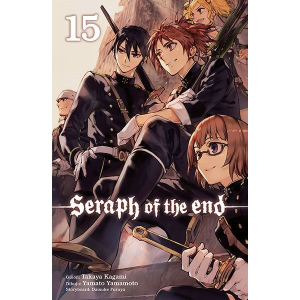 Seraph of the end #15 (Spanish) Manga Oficial Norma Editorial