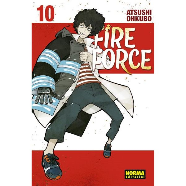 Fire Force #10 Manga Oficial Norma Editorial